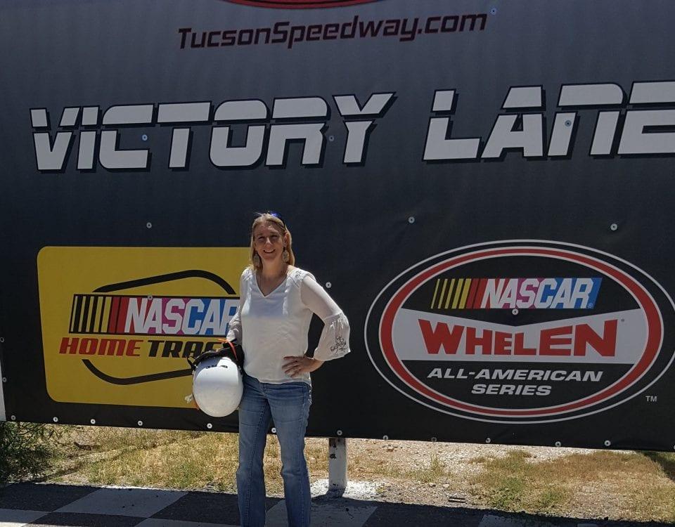 2018 Summer Breakthroughs, Victory Lane, Anji Thornton, Tucson Speedway, Racing, Las Cruces