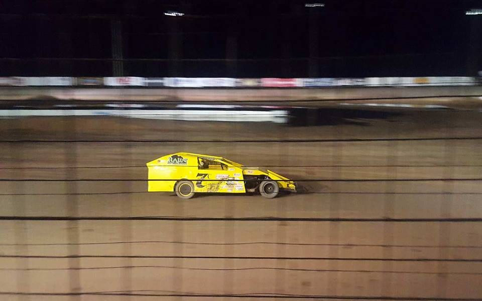 Anji Thornton, New Mexico Speedway, Driving, Modified Car